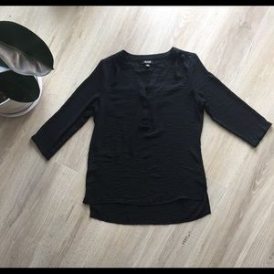Ana Brand Black Dress Shirt
